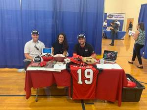 <p> September 17, 2019 Sharks at UF Career Fair - The Sharks attended the University of Florida career fair, offering intern opportunities to students.</p>