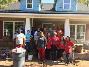 <p> November 10, 2016 Habitat for Humanity - The Sharks Staff, Players and Dancers donated an entire day to help work on a home with Habijax.</p>