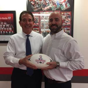 <p> January 17, 2017, Ready Fresh Food's - Official pre-game food sponsor for the Jacksonville Sharks visits the front office.</p>