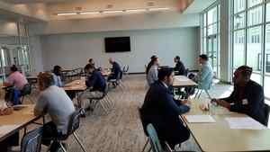 <p> 	March 12, 2020 Flager Mock Interviews- The Sharks came out for a second day of Mock Interviews to support Flagler's Sport Management program.</p>