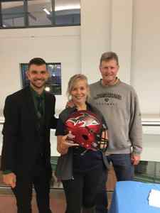 <p> 	November 15, 2019, Sharks at Networking Event - The Jacksonville Sharks attended the TeamWork Online Jacksonville Sports networking event at the VyStar Veterans Memorial Arena.</p>