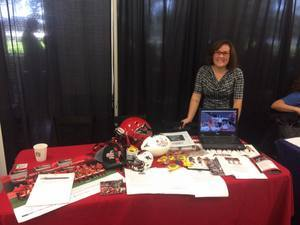 <p> October 12, 2017, JU Career Expo - The Sharks were at the Career Expo job fair at JU.</p> <p style=