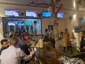 <p> March 5, 2020 JU Gold Phin Club - The Sharks attended JU's GOLD Phin Alumni Networking Event held at Strings Brewery in the Springfield District near downtown Jacksonville.</p>