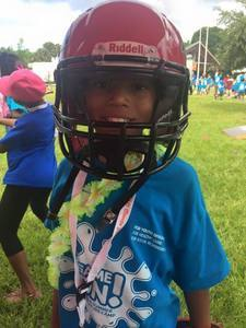 <p> June 29, 2017, National Summer Learning Day - The Sharks played cornhole and spent the day with kids at the event hosted by the Jacksonville Children's Commission.</p>