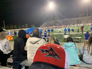 <p> December, 12, 2019, Sharks Visit 4A Championship - The Jacksonville Sharks showed support for The Bolles School in the 4A State Championship in Daytona Beach, FL against Miami's Booker T. Washington High School.</p>