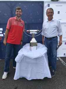 <p> March 11, 2020 PGA tour- The Sharks got to see the FedExCup trophy while visiting our friends from the PGA tour</p>