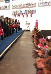 June 1, 2018, Attack Dance Team - The Attack Dance team held a Junior Attack Dance camp.