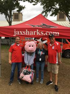 <p> 	November 2, 2018, Jacksonville Fair - The Sharks had a blast seeing fans at the Jacksonville Fair</p>