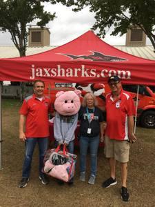 <p> November 2, 2018, Jacksonville Fair - The Sharks had a blast seeing fans at the Jacksonville Fair</p>