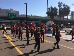 <p> January 16, 2017, Martin Luther King Jr. Day Parade - The Sharks and the Attack Dance Team were honored to partake in the 2017 MLK Day Parade in Downtown Jacksonville.</p>