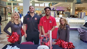 <p> 	January 8, 2020, Family Fitness Health & Beauty Expo - The Sharks had a great Saturday at the Family Fitness Health & Beauty Expo at the Regency Mall. </p>