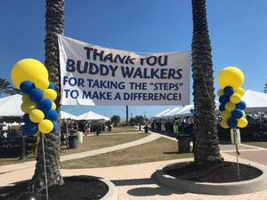 October 20, 2018, Buddy Walk - The Jacksonville Sharks are proud to be a part of the 16th Annual Buddy Walk hosted by The Down Syndrome Association of Jacksonville.