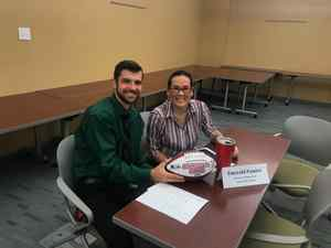 <p> 	October 28, 2019, Sharks at University of North Florida - The Jacksonville Sharks attended UNF to help senior sports managment students with their mock interviews for their class.</p>