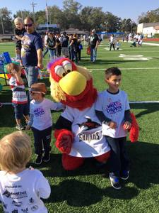 <p> November 20, 2016, Walk for Children with Apraxia - The Sharks participated in the Walk for Children with Apraxia at Bolles High School.</p>