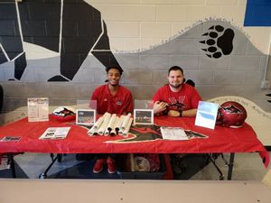 "<p> 	Janauary 25, 2020, Boy Scouts of America - The Jacksonville Sharks attended the Boy Scouts of America's annual ""University of Scouting"" training session at Bartram Trail High School. </p>"