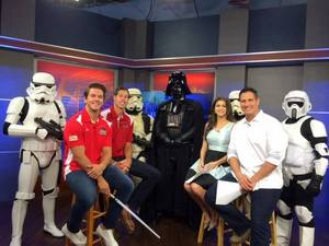 <p> June 24, 2016, First Coast Living - The Jacksonville Sharks Players starred on the First Coast Living show on First Coast News.</p>