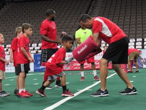 <p> May 20, 2017, Sharks Youth Football Camp - The Sharks Players and Coaches held a football camp for youth in the community.</p>