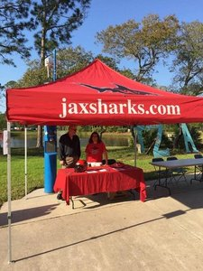 <p> April 12, 2017, UNF Market Days - The Sharks appeared at UNF&#39;s Market Day Wednesdays.</p>