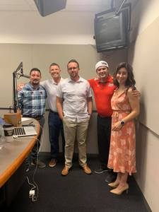 <p> 	July 17, 2019 Jax Sharks on the Radio - Jax Sharks Multimedia Director Steven Shotola spent the day with iHeartRadio's The Game Sports Radio in the Jacksonville iHeartRadio studio.</p>