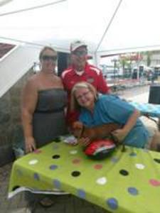 <p> September 25, 2017, Yappy Hour - The Sharks were out in the community at the Jacksonville Landing to support Yappy Hour.</p>