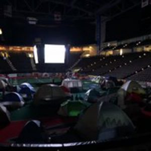 May 20, 2018, Boy Scouts sleepover - The Boy Scouts of America had a sleepover in the Sharks' Shark Tank.