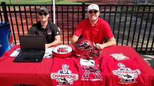 <p> February 29, 2020, Jacksonville University Moe's Southwest Grill - The Sharks spent the Saturday showing support for the JU lacrosse team at the Moe's Classic.</p>