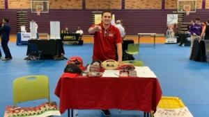 February 21, 2019, Fletcher High School Career Fair - The Sharks attended the Fletcher High School Career Fair.