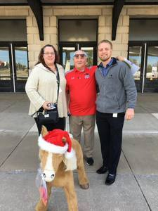 <p> December 14, 2017, Hubbard House - Jacksonville Sharks donated to the Hubbard House in 2017.</p>