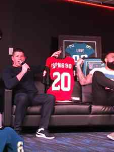 <p> January, 17, 2020, ESPN 690 - The Sharks gifted a custom shark jersey to Brent Martineau of ESPN 690 in celebration of their 1st Anniversary.</p>