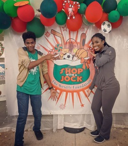 <p> 	December, 13, 2019, Shop With a Jock - The Jacksonville Sharks and Attack Dance Team had a great time supporting The Boselli Foundation at their Shop With a Jock charity event. </p>