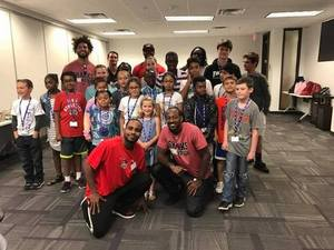 "<p> June 14, 2017, Bring Your Kid to Work Day - The Sharks Players had a blast ""working"" with kids for the day.</p>"
