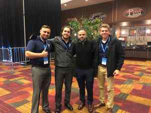 <p> February 28, 2020, NFL Combine - The Sharks former and current interns spent the weekend attending the NFL Combine in Indianapolis.</p>