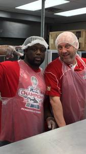<p> December 22, 2017, City Rescue Mission - Jacksonville Sharks bring holiday cheer to men and women of the City Rescue Mission.</p>